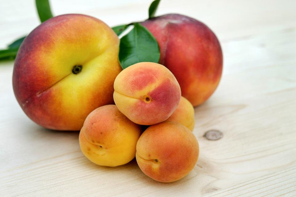 Meruňky a broskve