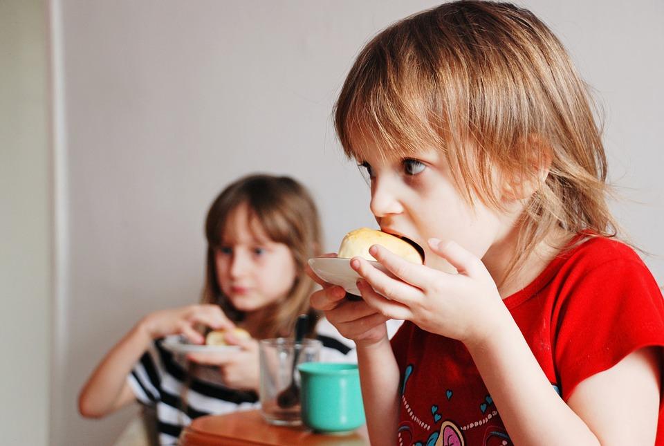 Malí sportovci a jejich stravování